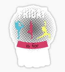 Friday is for Yoga T-Shirt Sticker