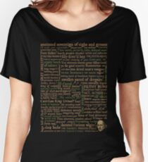 Shakespeare Insults Dark - Revised Edition (by incognita) Women's Relaxed Fit T-Shirt