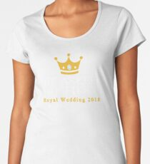 He Asked Me First- Royal Wedding 2018 Women's Premium T-Shirt