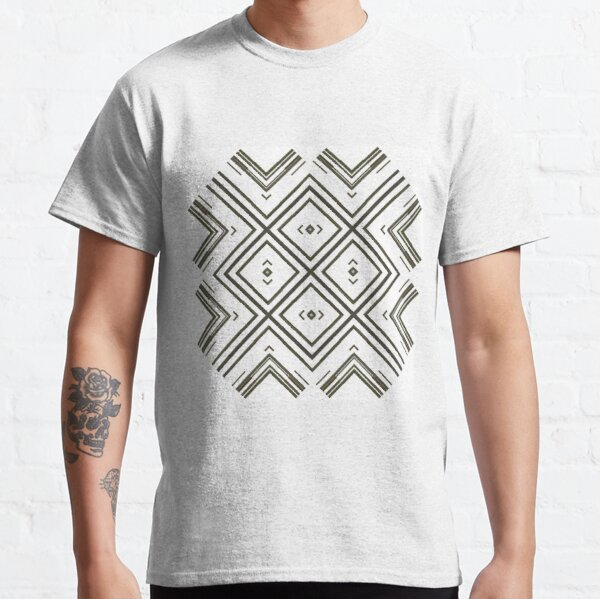 Pattern, tracery, weave, figure, structure, framework, composition, frame, texture Classic T-Shirt