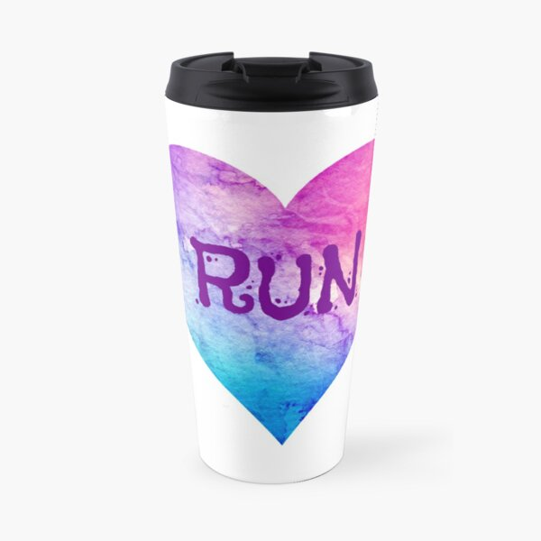 Love to Run Travel Mug