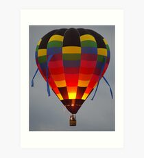 Floating Lantern Art Print