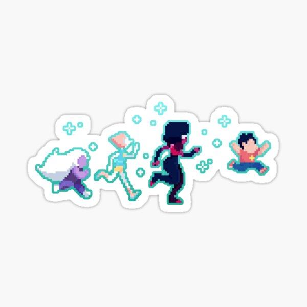 Pixel Gems Sticker
