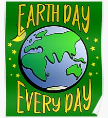Don't Be Trashy, Save The Earth,  Help End Plastic Pollution. #earthday Poster