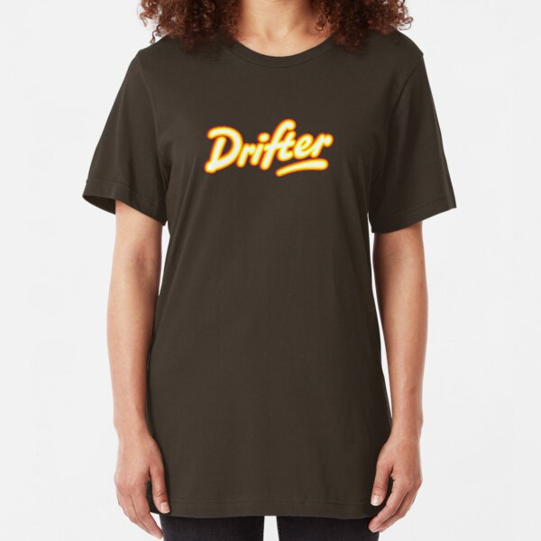 Retro Rowntree's Drifter chocolate bar pack logo Slim Fit T-Shirt