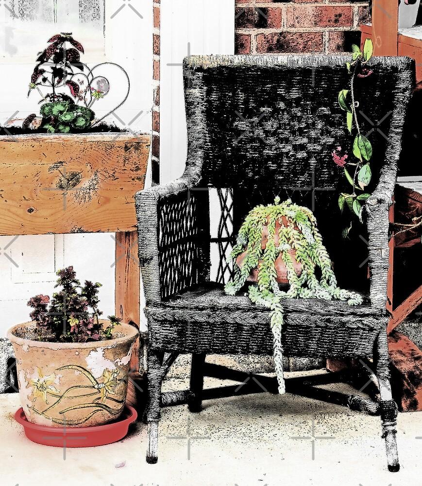 Wicker Chair by CarolM