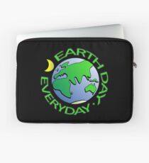 Earth Day Every Day, Save The Planet For Our Children Cute Earthy Hippie #earthday Laptop Sleeve