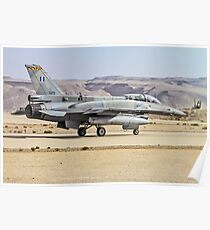 Greek Air Force General Dynamics F-16D  Poster