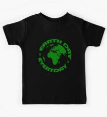 Earth Day Every Day, Save The Planet For Our Children #earthday Kids Tee