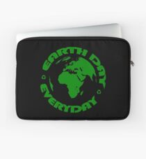 Earth Day Every Day, Save The Planet For Our Children #earthday Laptop Sleeve
