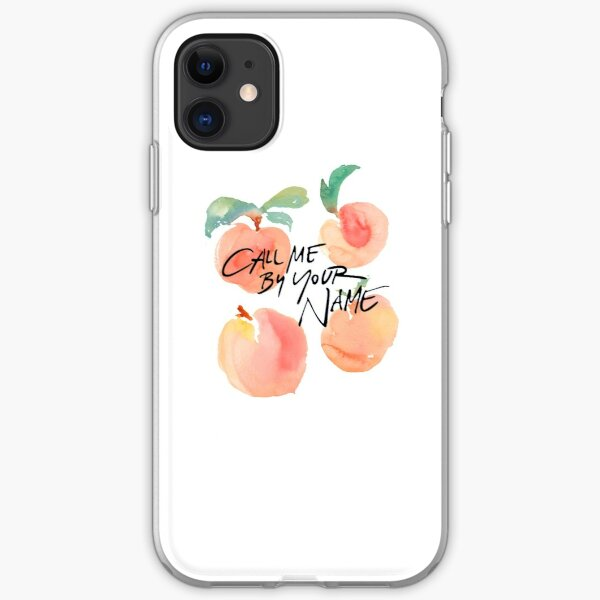 Call Me By Your Name - Peaches iPhone Soft Case