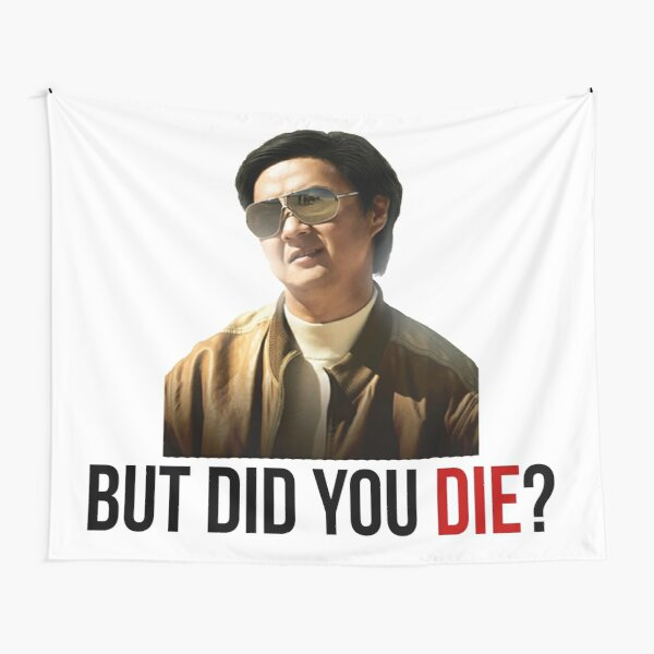 The Hangover Mr Chow - But Did You Die? Tapestry
