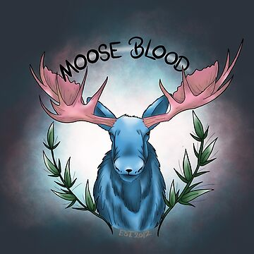 MOOSE  by Prettayboyart