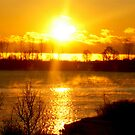 Sunrise VI (waterfront lake Ontario) by sendao