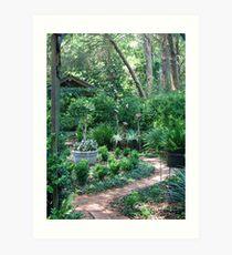 On the way to the Secret Garden       Art Print