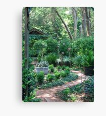 On the way to the Secret Garden       Canvas Print
