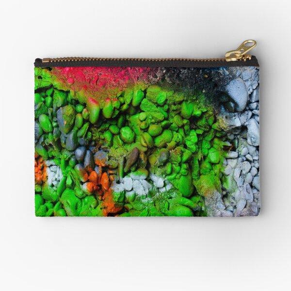 Abstract Graffiti Wall Art Photography - 1 Zipper Pouch
