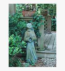 Angels dwell in the garden... Photographic Print