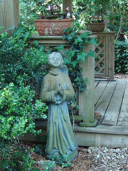 Angels dwell in the garden... by May Lattanzio