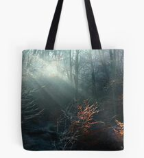 First Rays on a Frosty Morning Tote Bag