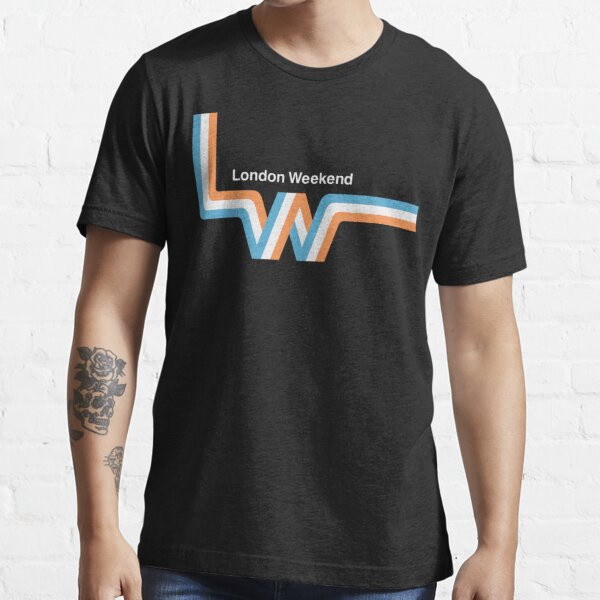 "Retro LWT ""ribbon"" television logo  Essential T-Shirt"