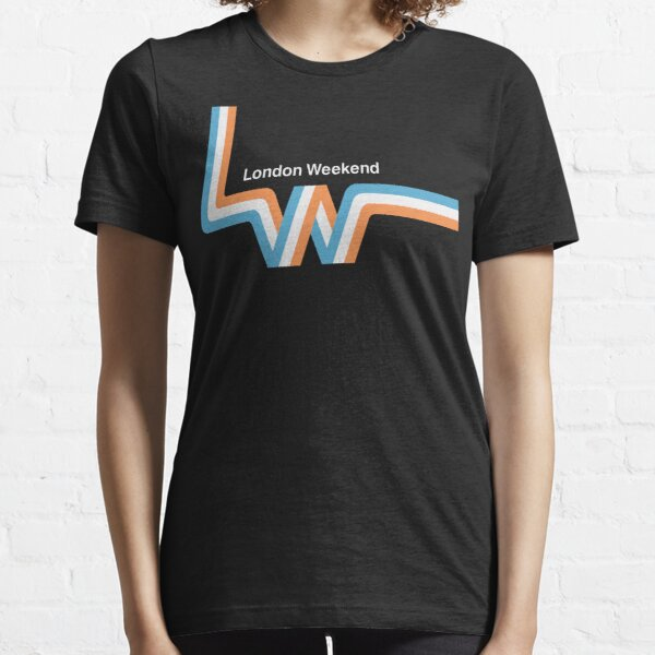 """Retro LWT """"ribbon"""" television logo  Essential T-Shirt"""