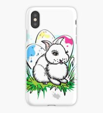 Easter Eggs and Rabbit Bunny iPhone Case/Skin
