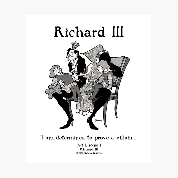 RICHARD III Photographic Print