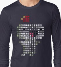 Fez Happy Gomez Tiles Long Sleeve T-Shirt