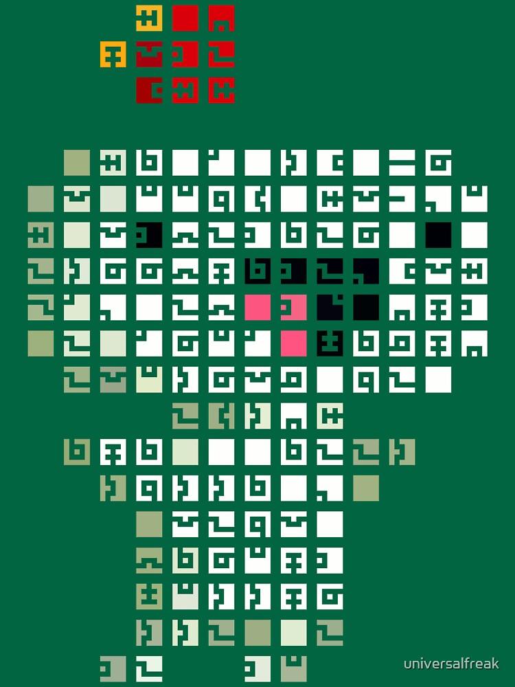 Fez Happy Gomez Tiles | Unisex T-Shirt