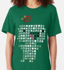 Fez Happy Gomez Tiles Slim Fit T-Shirt