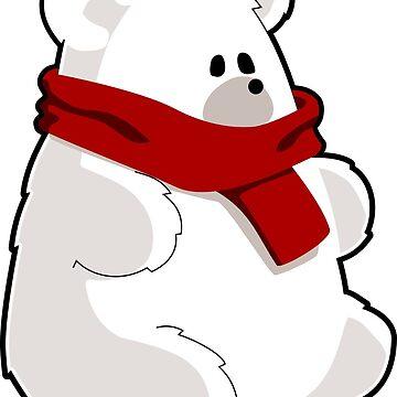 Adorable Polar Bear by GeneralHooHa