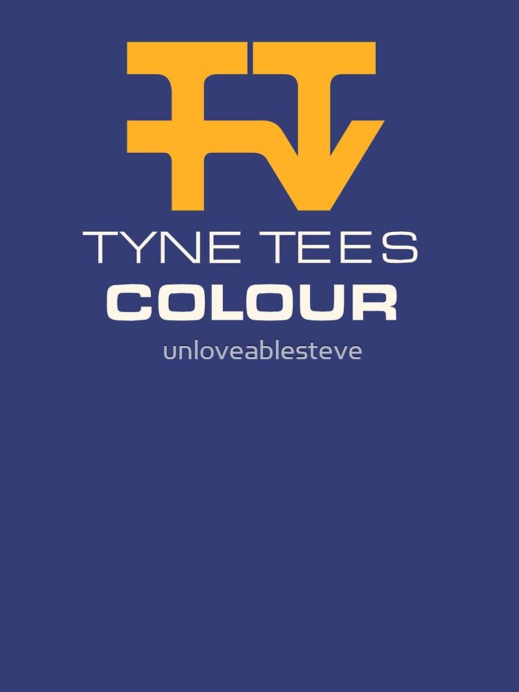 Tyne Tees regional ITV station logo by unloveablesteve