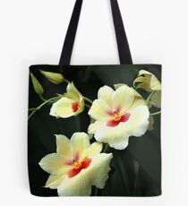 ... with delightful grace ... Tote Bag