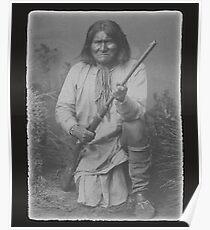 Geronimo Apache Native American Indian Warrior Hero Arizona Poster
