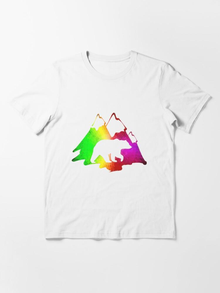 Alternate view of Bear Mountain Essential T-Shirt