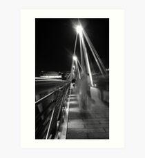 Hungerford / Golden Jubilee Bridge Art Print