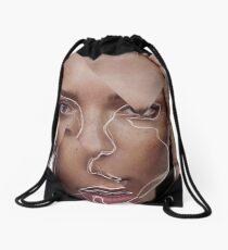 Fracture Drawstring Bag