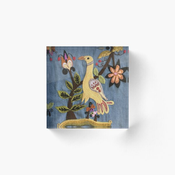 Chill Bird Acrylic Block
