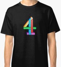 Channel 4 retro logo  Classic T-Shirt
