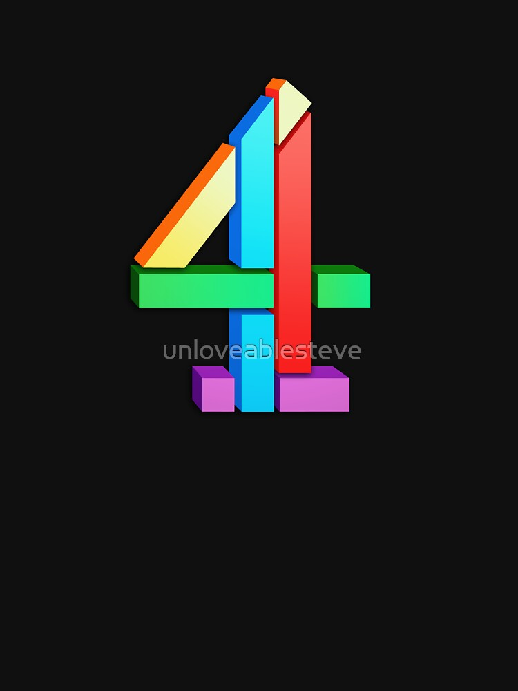 Channel 4 retro logo  by unloveablesteve