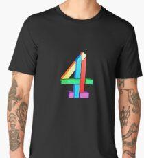 Channel 4 retro logo  Men's Premium T-Shirt