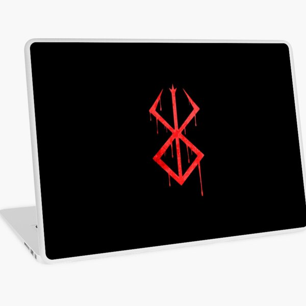 Berserk Demon Mark Laptop Skin
