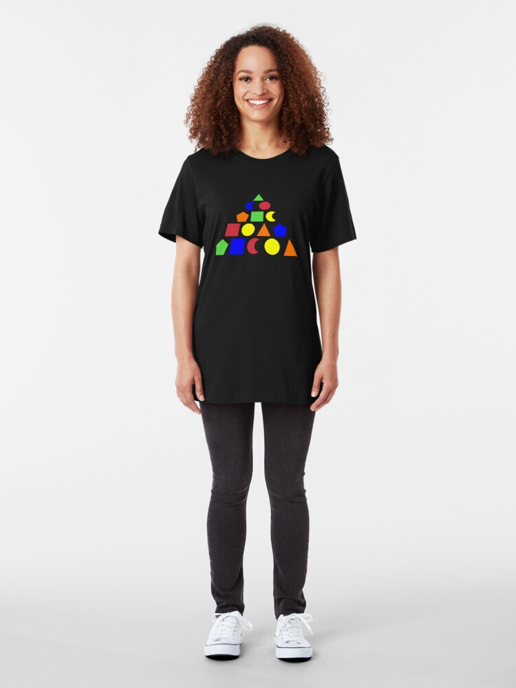Alternate view of The Adventure Game drogna game Slim Fit T-Shirt