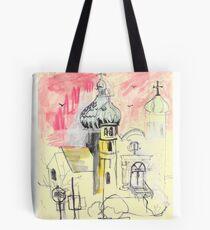 Urban Sketch Tote Bag