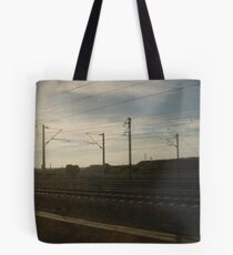 Transversing the continent Tote Bag