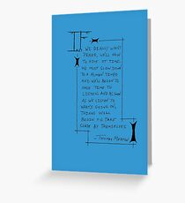 Thomas Merton Greeting Card