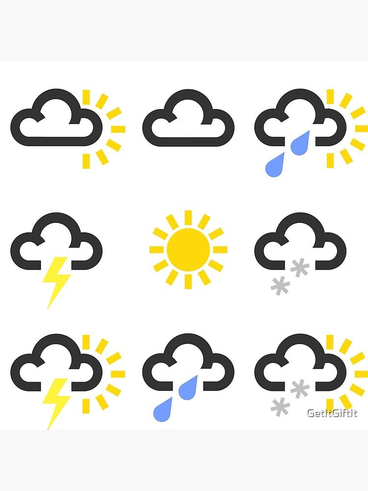 Image result for weather symbols