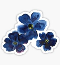 Forget me Nots for Cole Sticker