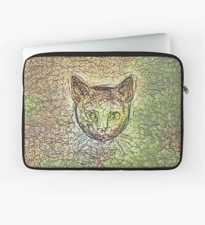 Cat on his way home Laptop Sleeve